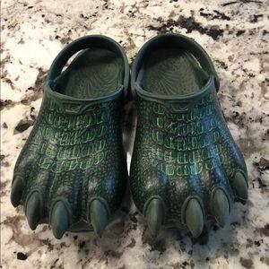 Other - Boys 11/12 Dinosaur Foot Slip on Shoe